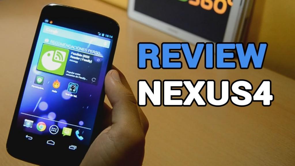 Primeras impresiones Nexus 4