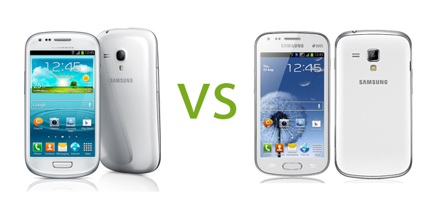 Samsung Galaxy S3 Mini vs Samsung Galaxy S Duos