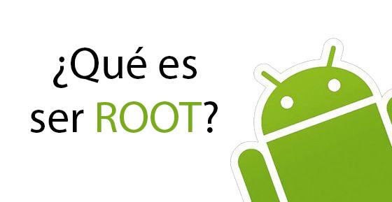 qué es ser root