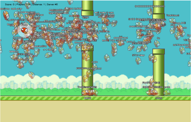 Flappy Bird multijugador