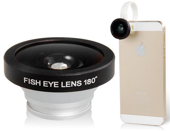Ojo de pez para iPhone