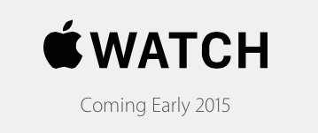 Apple Watch coming soon