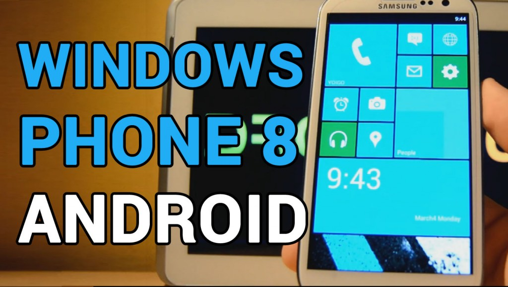 Convertir Android en Windows 8