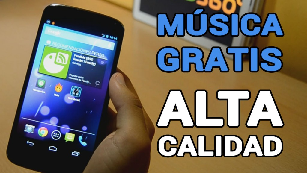 mejor aplicación para descargar música gratis Android