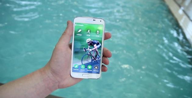 Sasmung Galaxy S5 sumergible